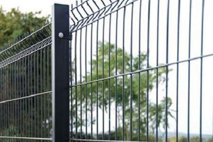 Panou gard verde 1.2 x 2.5 m / 1200 x 2500, fir de 3.5 mm, pentru garduri