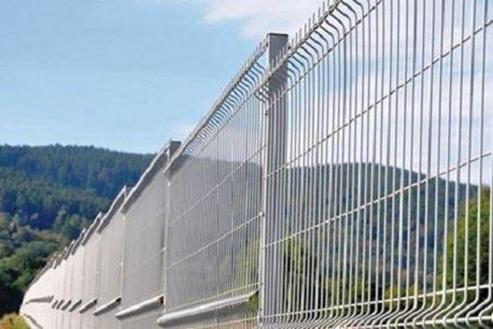 Panou gard zincat 2 x 2 m / 2000 x 2000, fir de 3.5 mm, pentru imprejmuiri